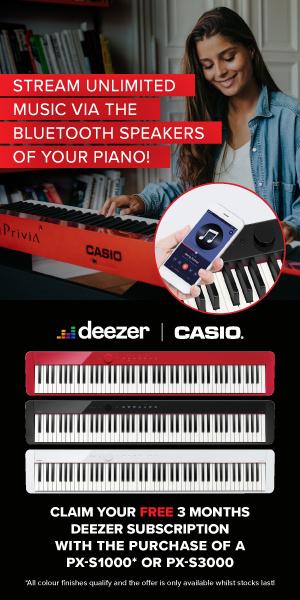 Casio Deezer Promo